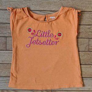 Gymboree Little Jetsetter 3D Jewel T-Shirt